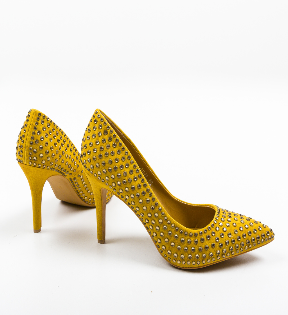 Pantofi Jazm Galbeni