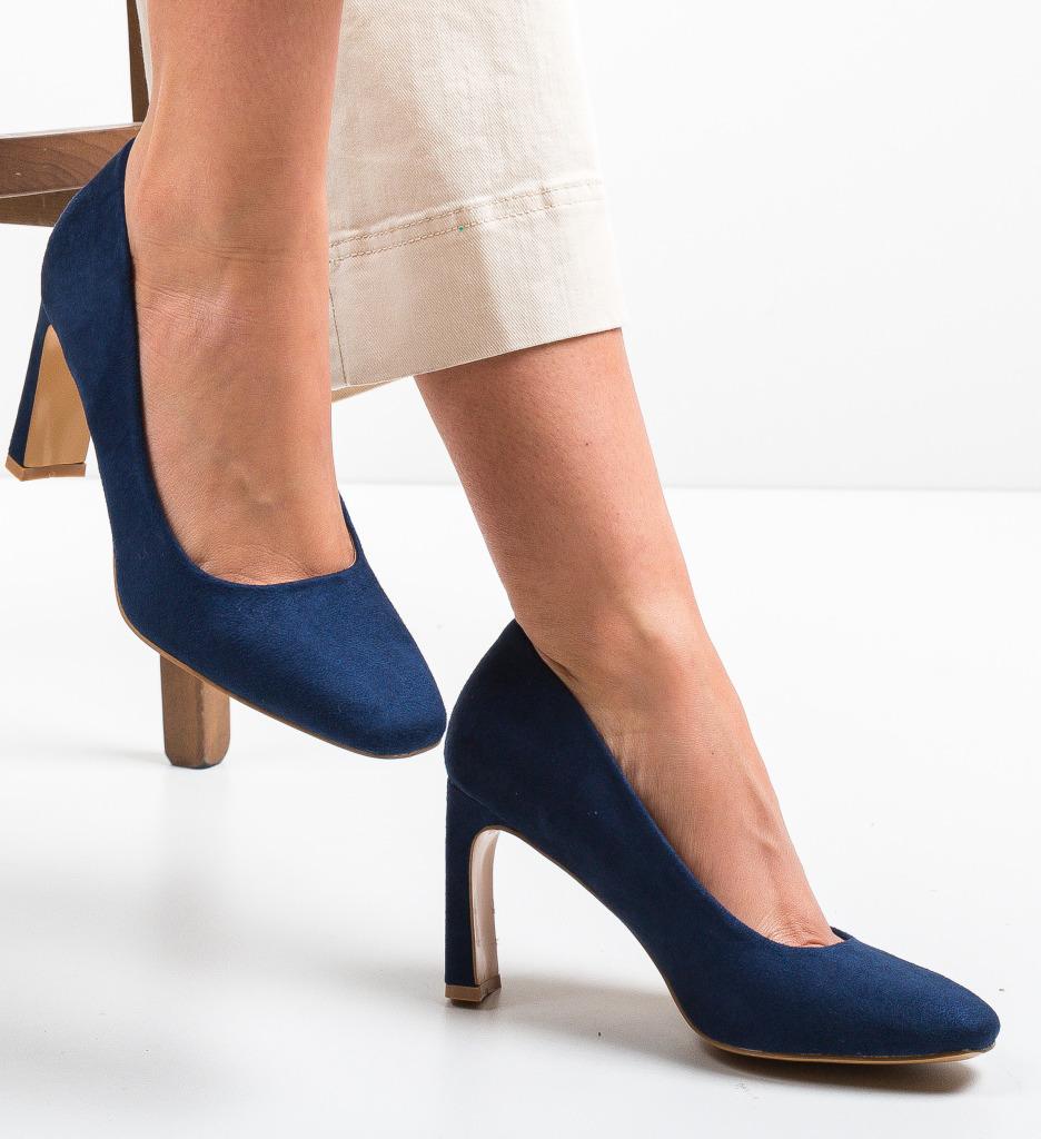 Pantofi Jolo Bleumarin