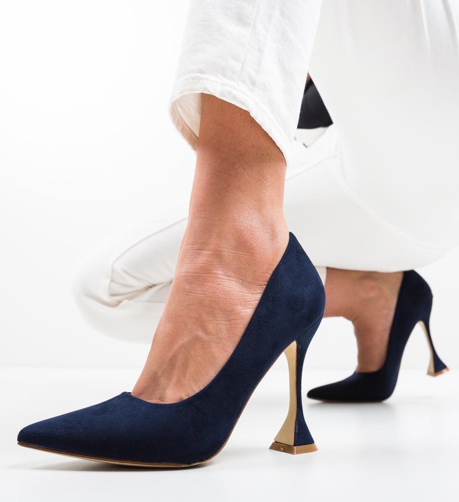 Pantofi Jorio Bleumarin