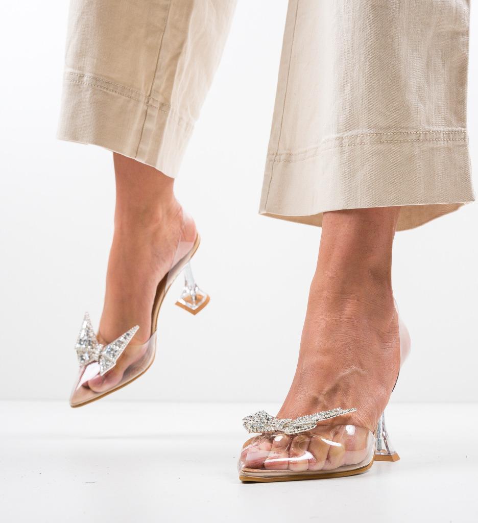 Pantofi Keiran Nude