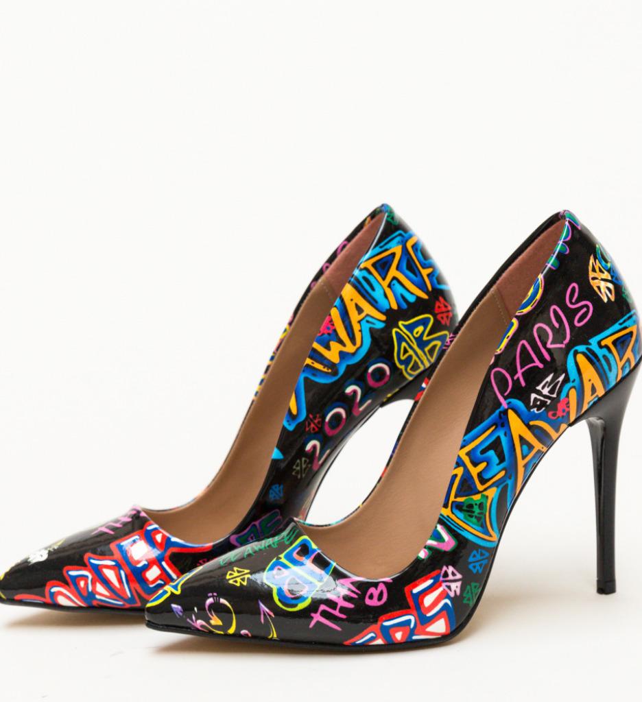 Pantofi Kiton Negri