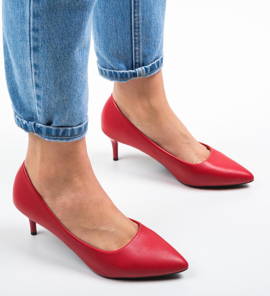 Pantofi Magu Rosii