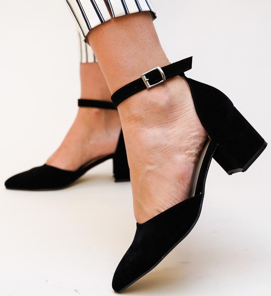 Pantofi Masono Negri