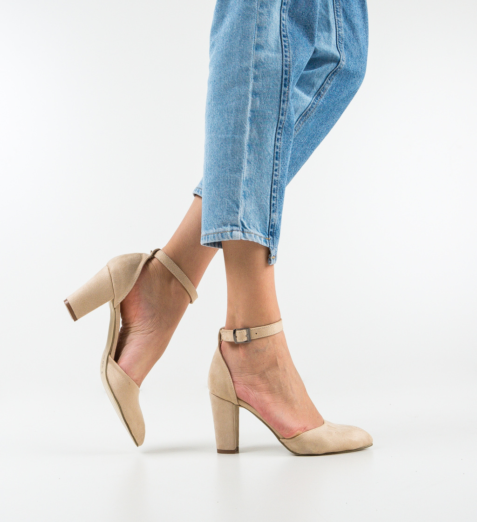 Pantofi Narcissa Bej 2