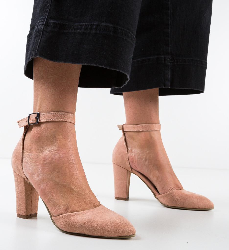 Pantofi Narcissa Roz