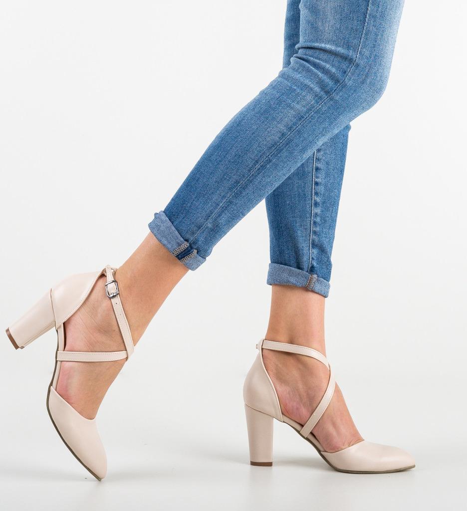Pantofi Pandini Bej