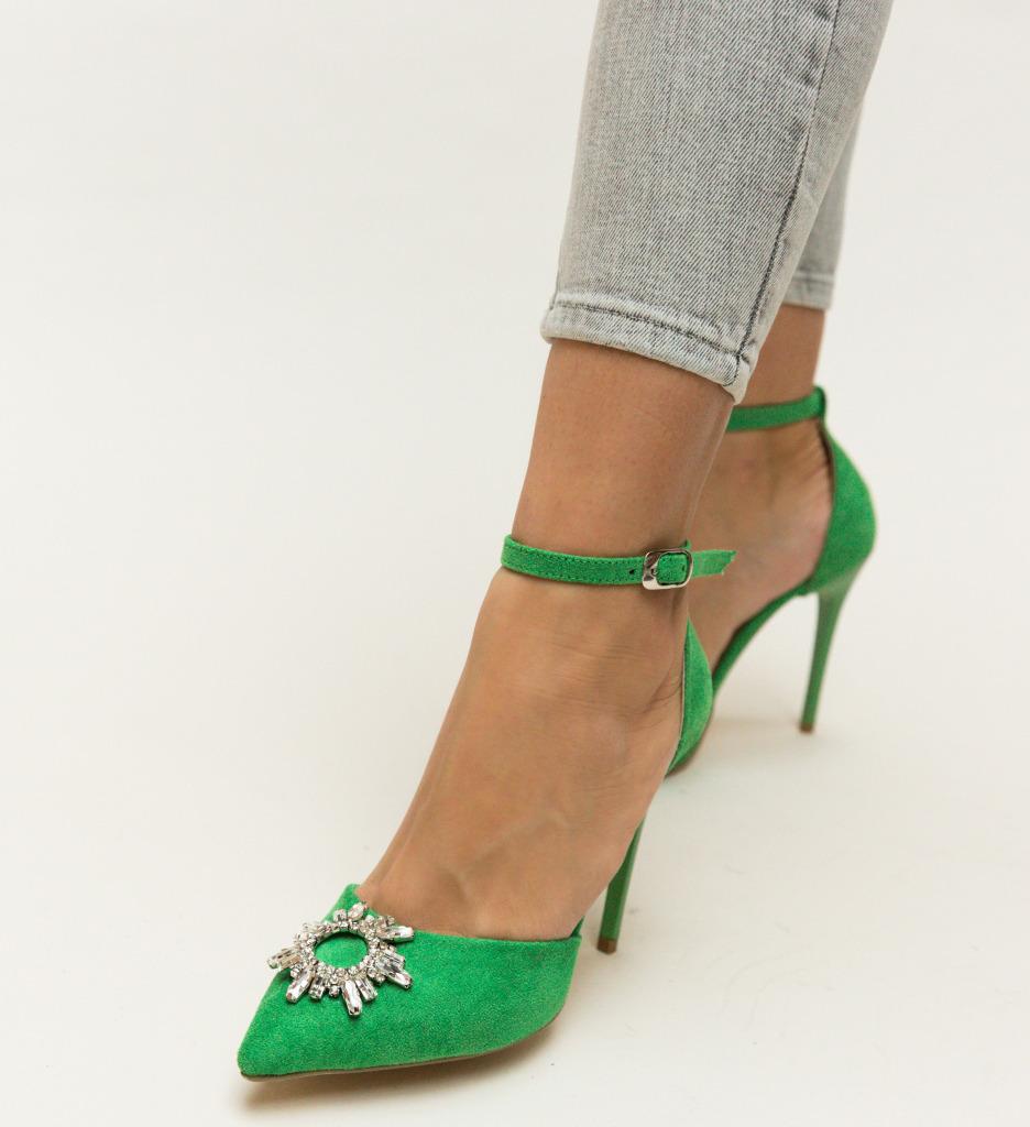 Pantofi Ross Verzi
