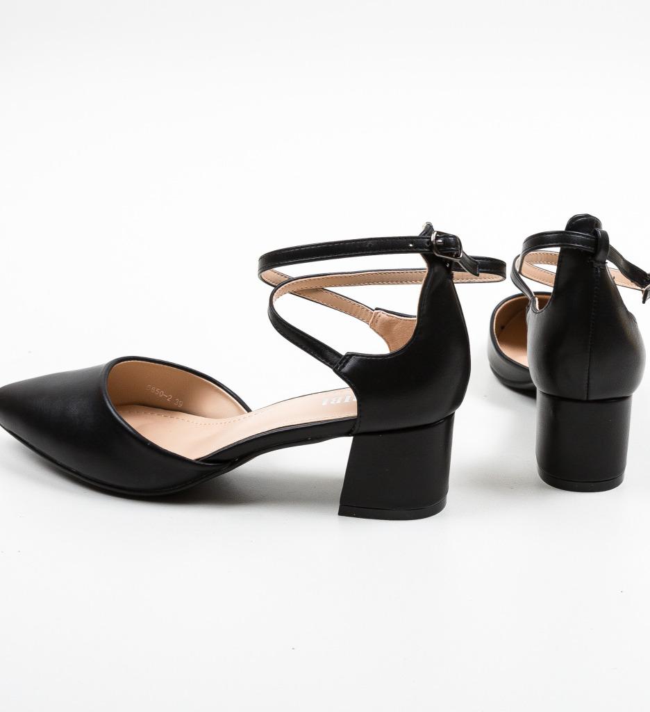 Pantofi Sandiko Negri