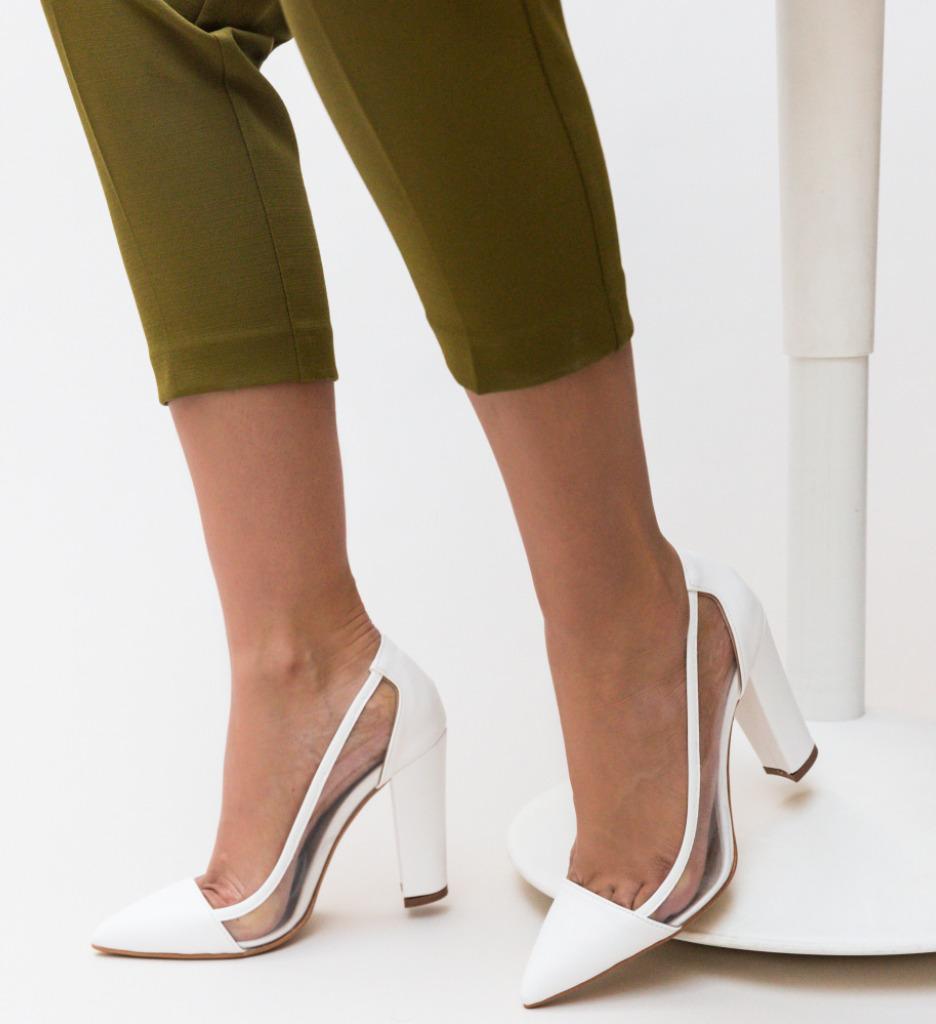 Pantofi Seneha Albi 2