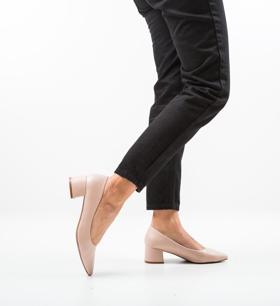 Pantofi Shana Nude