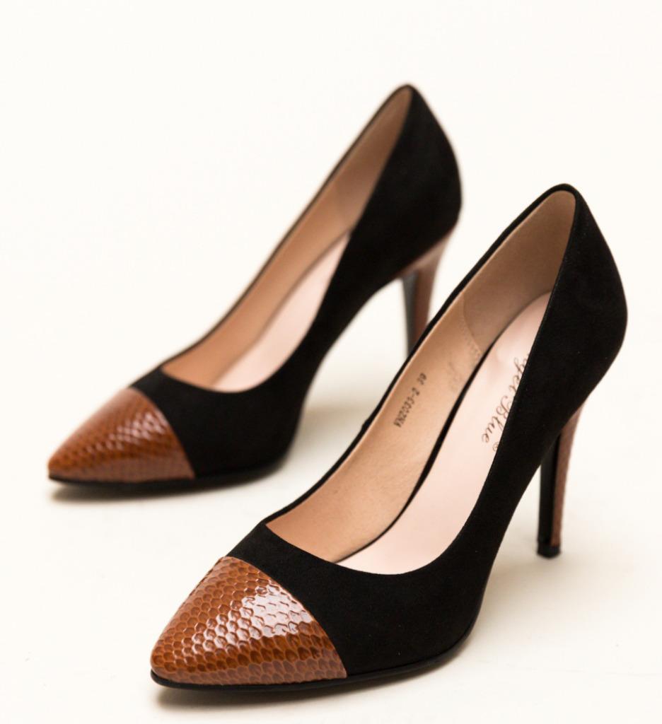 Pantofi Silas Negri 2