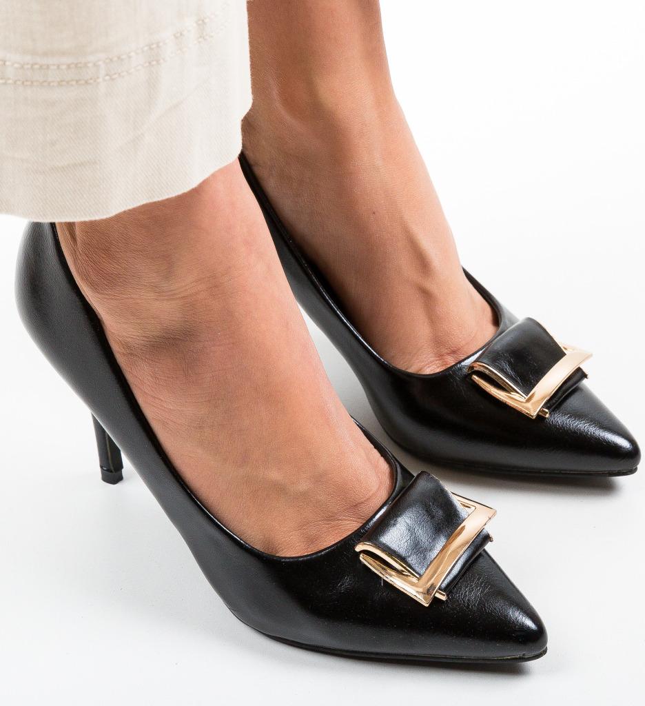 Pantofi Sonecu Negri