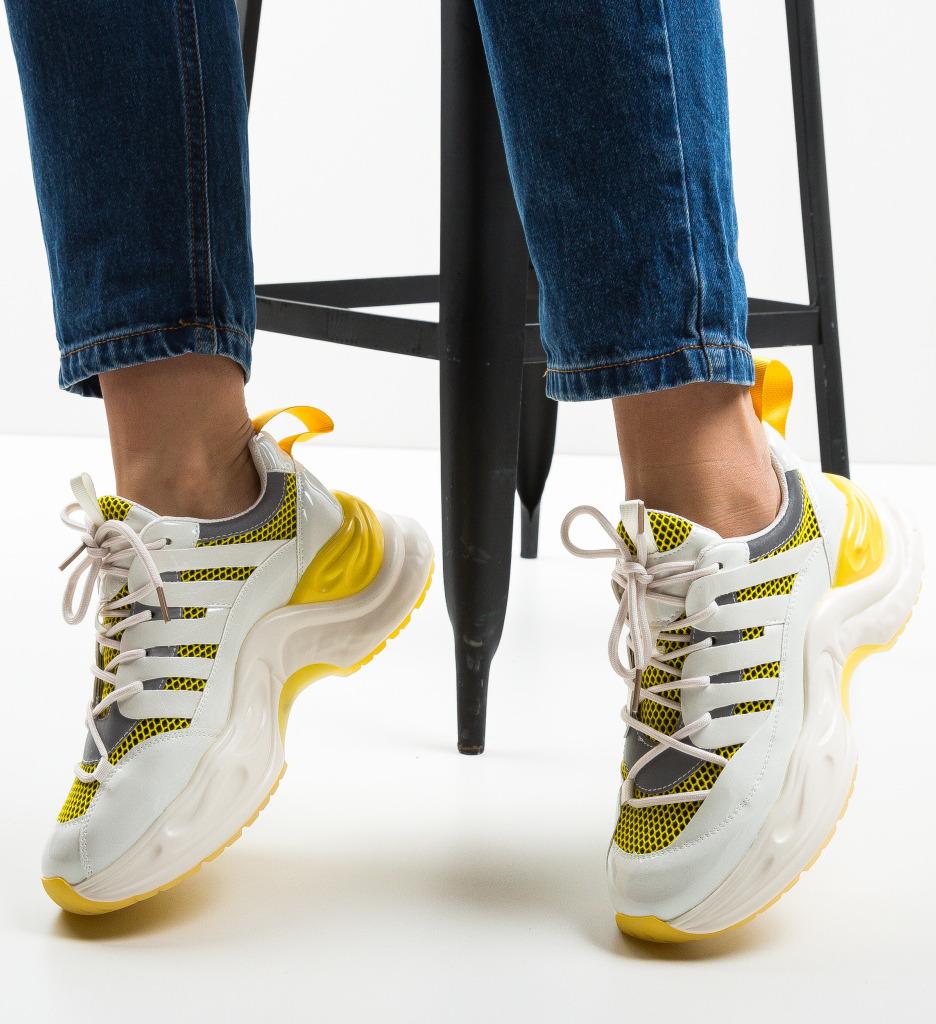 Pantofi Sport Bordan Galbeni