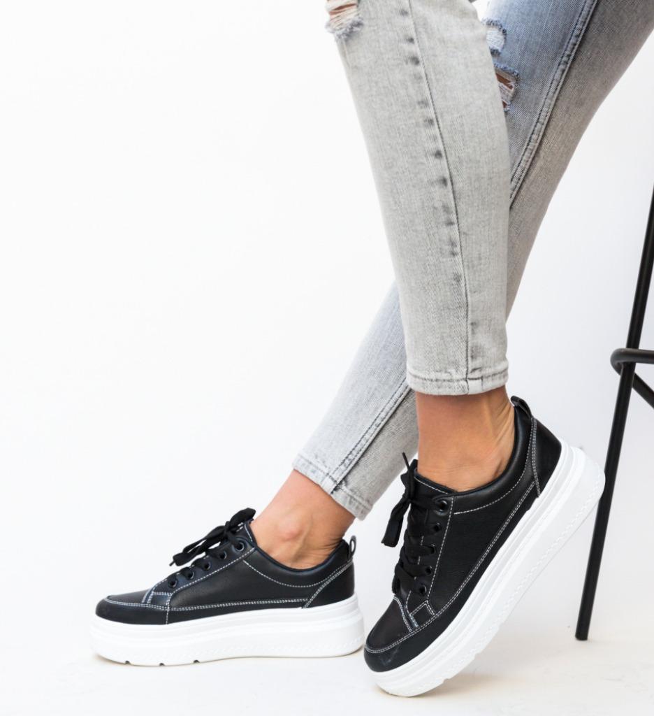 Pantofi Sport Demou Negri 2