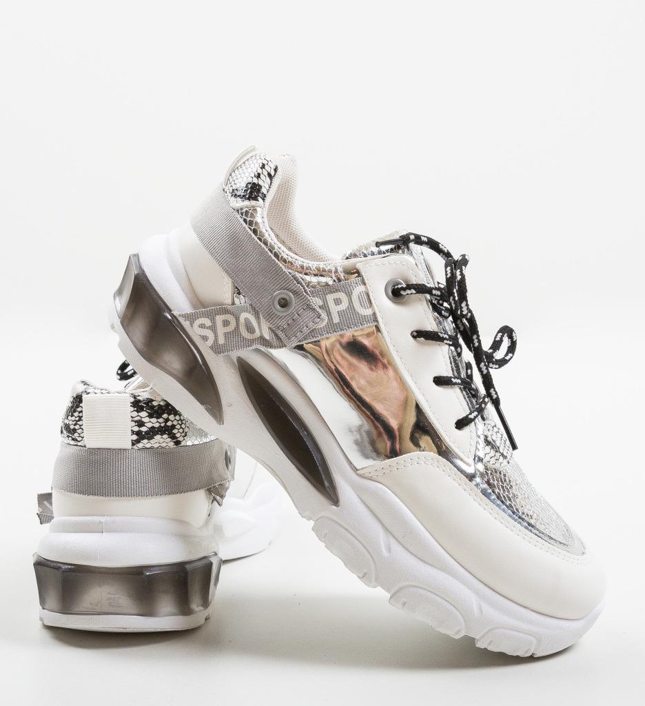 Pantofi Sport Hane Argintii