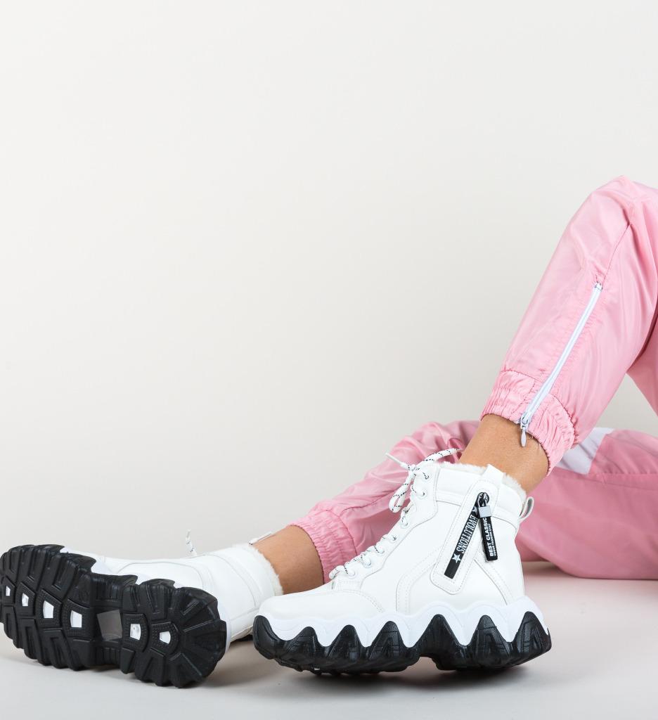 Pantofi Sport Jajima Albi