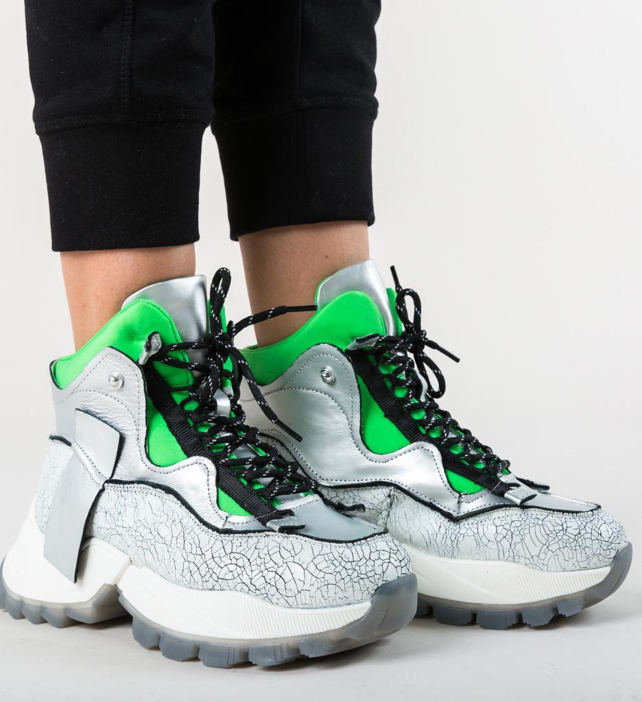 Pantofi Sport Karam Argintii