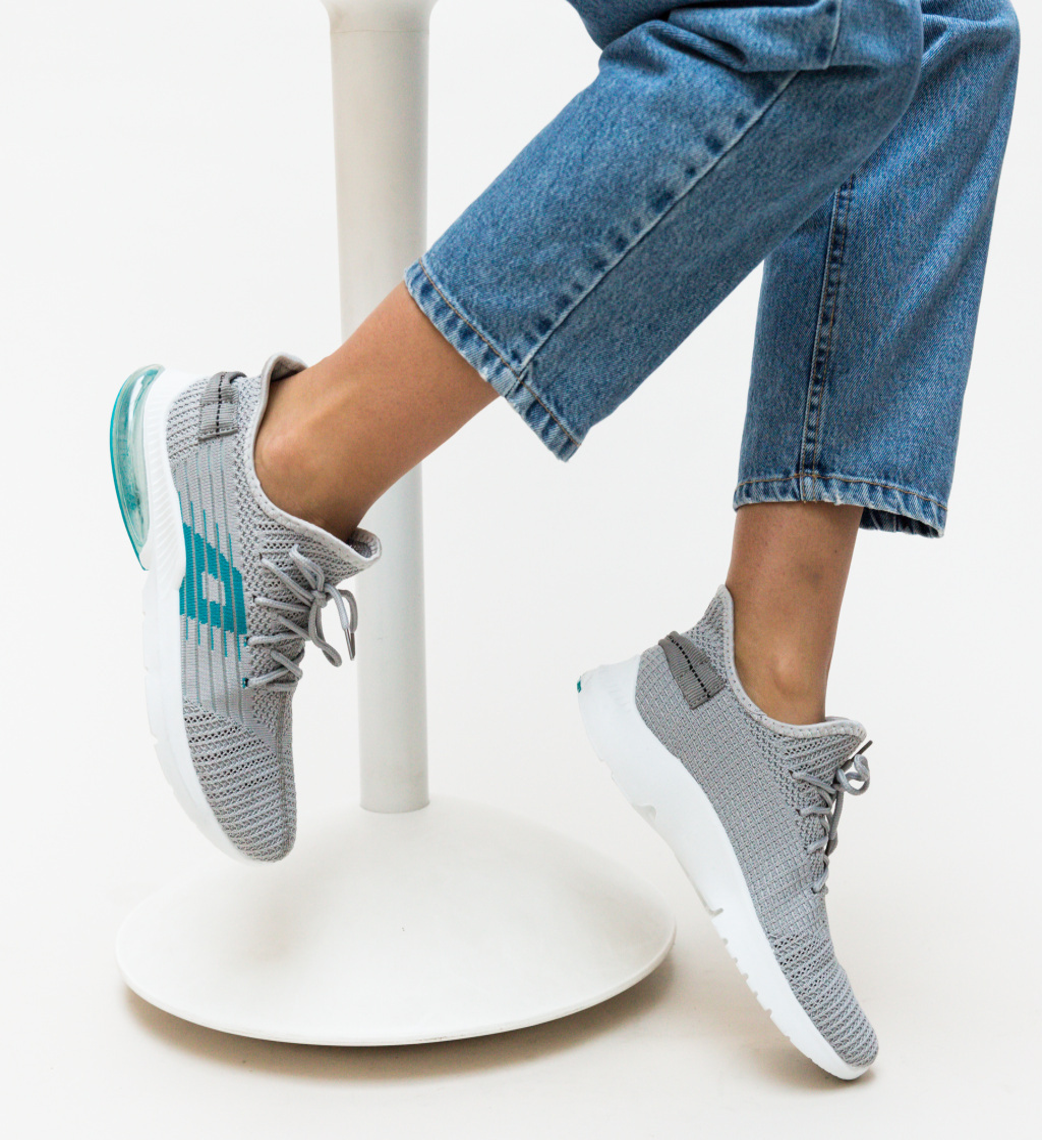 Pantofi Sport Lino Gri