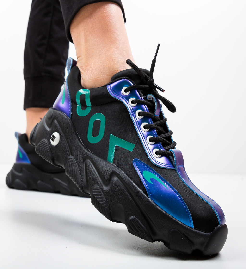 Pantofi Sport Loom Negri