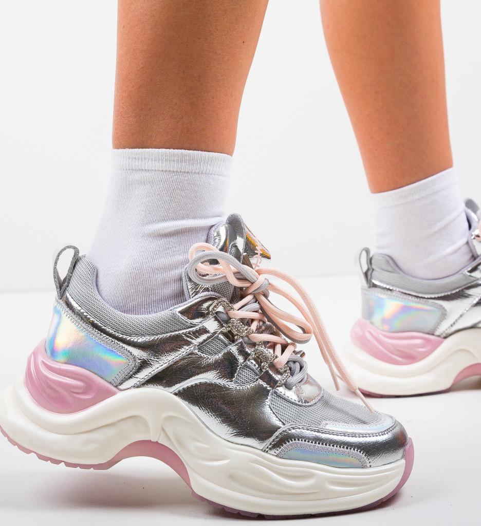 Pantofi Sport Lylyam Argintii