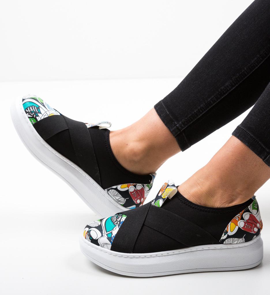 Pantofi Sport Partica Negri