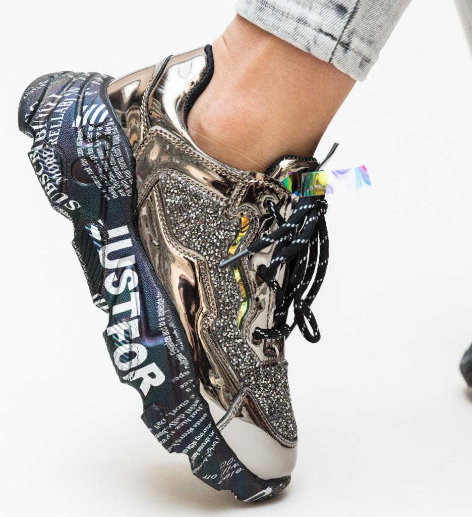 Pantofi Sport Roxette Gri