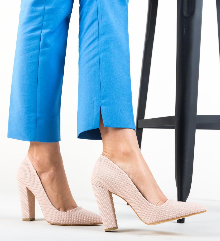 Pantofi Sunshine Roz