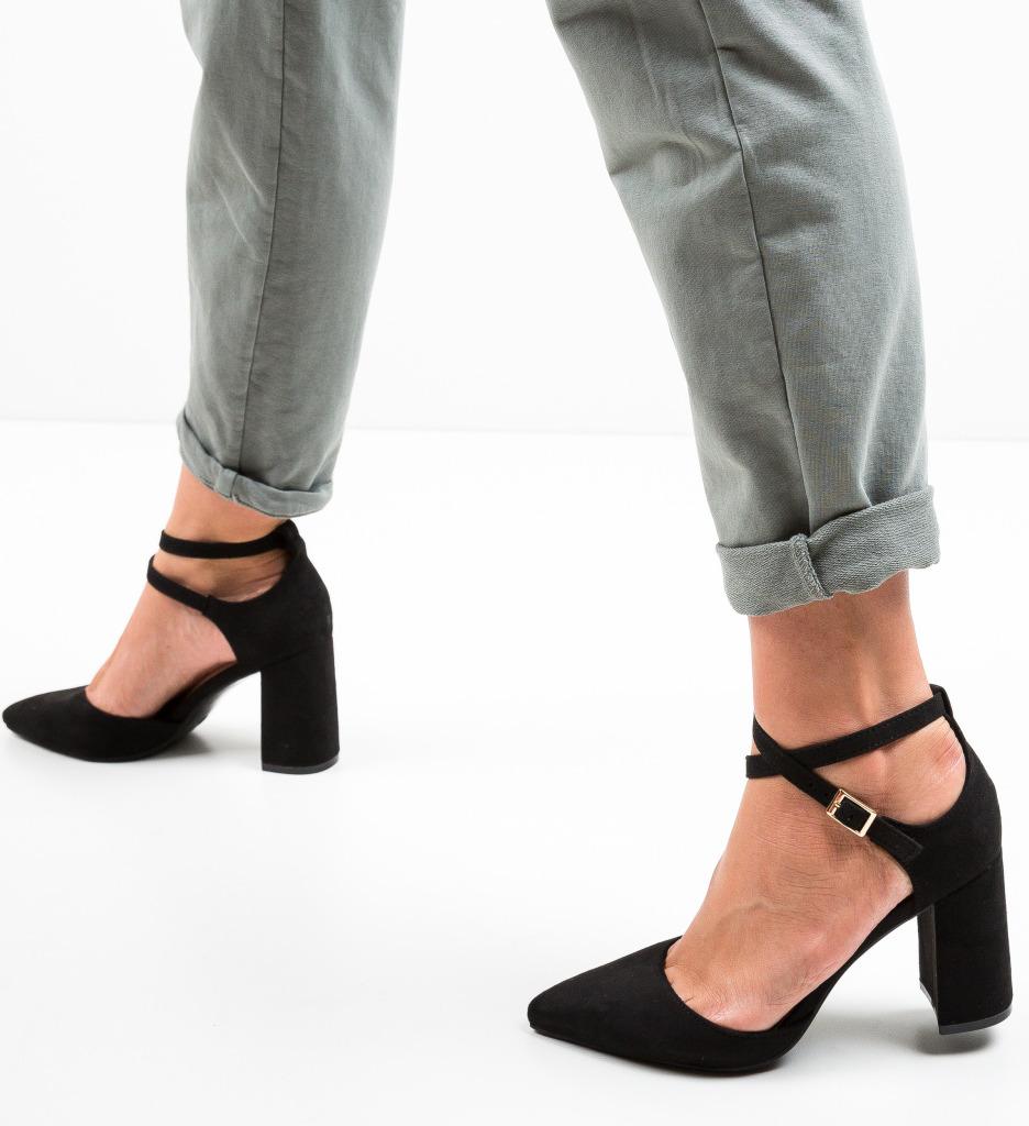 Pantofi Toimed Negri