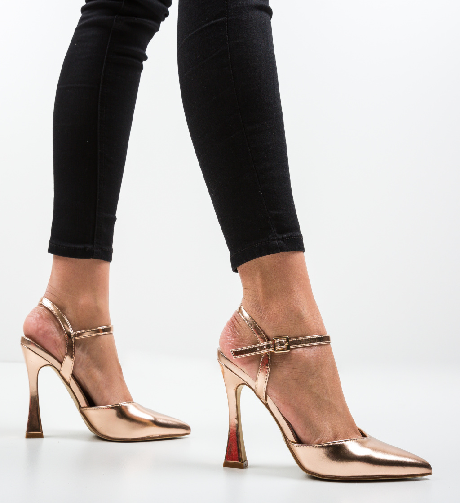 Pantofi Trop Aurii 2