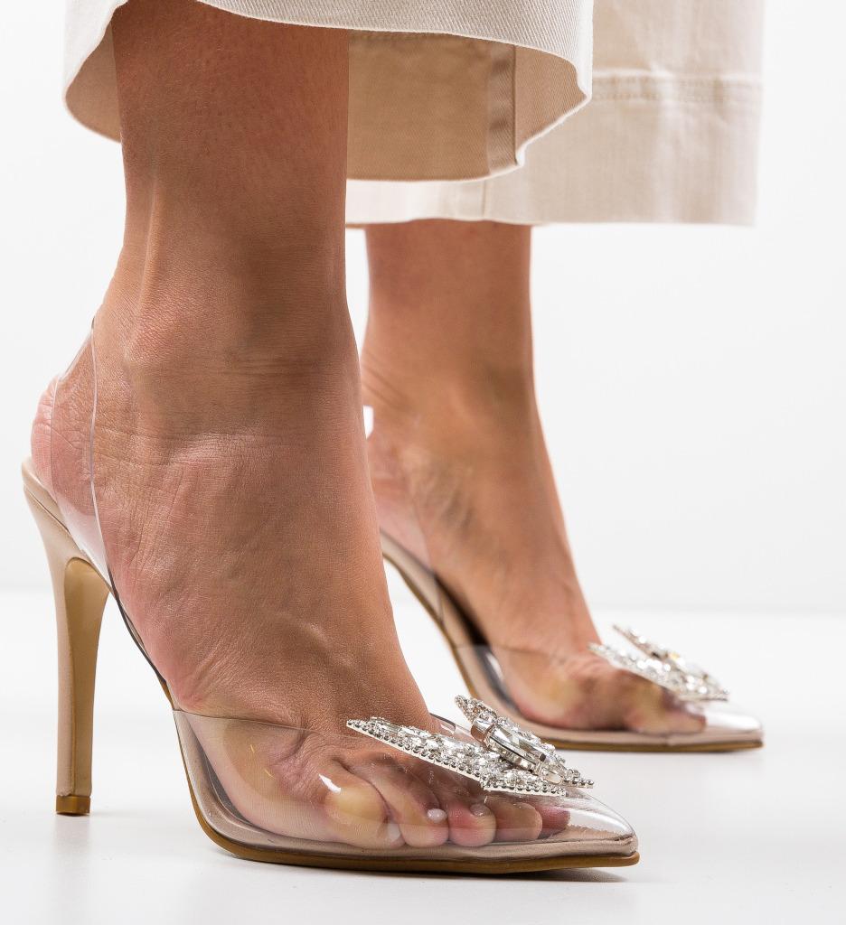 Pantofi Zeltis Bej