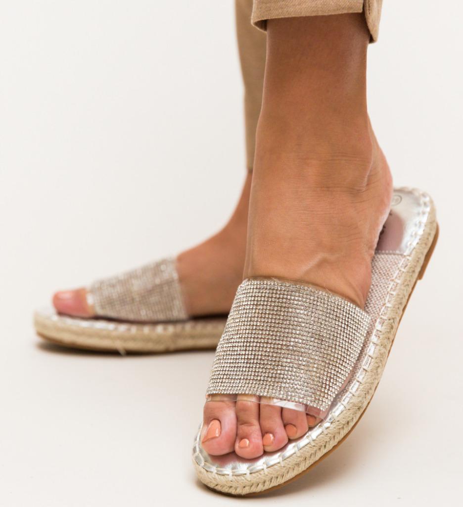 Papuci Amie Argintii
