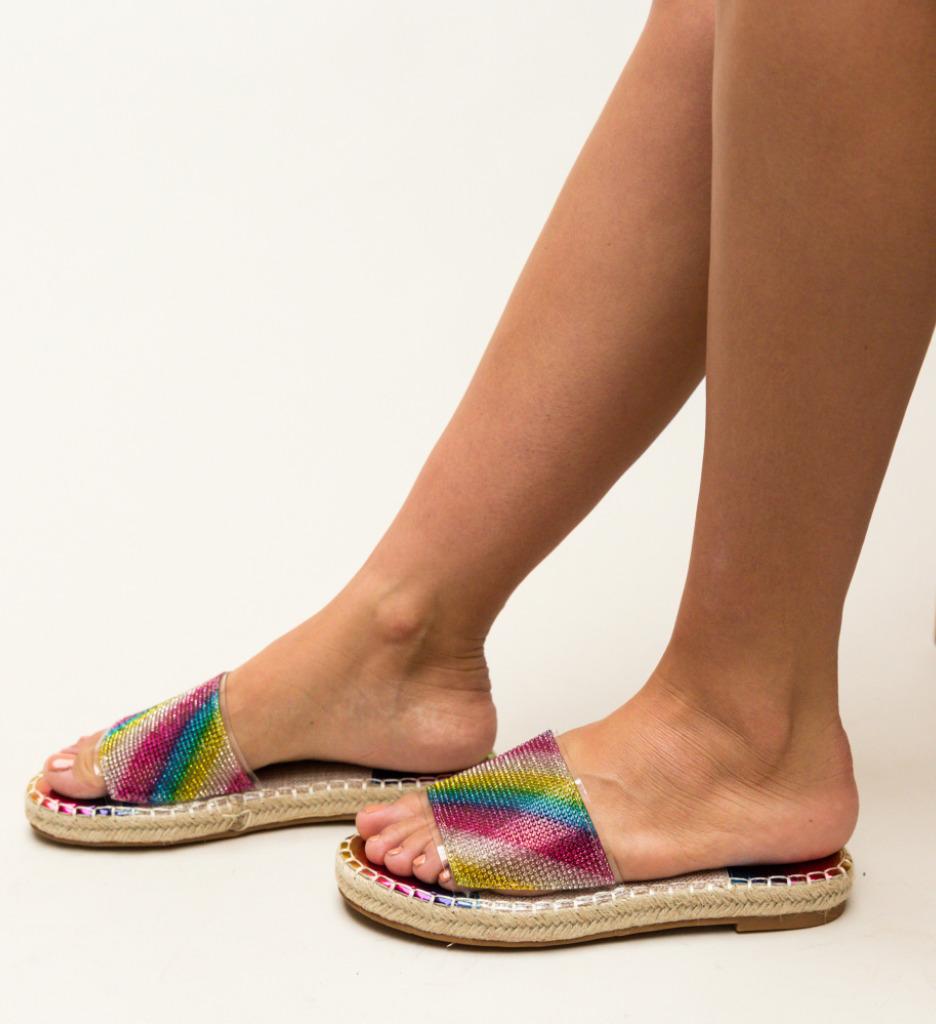 Papuci Amie Multicolor