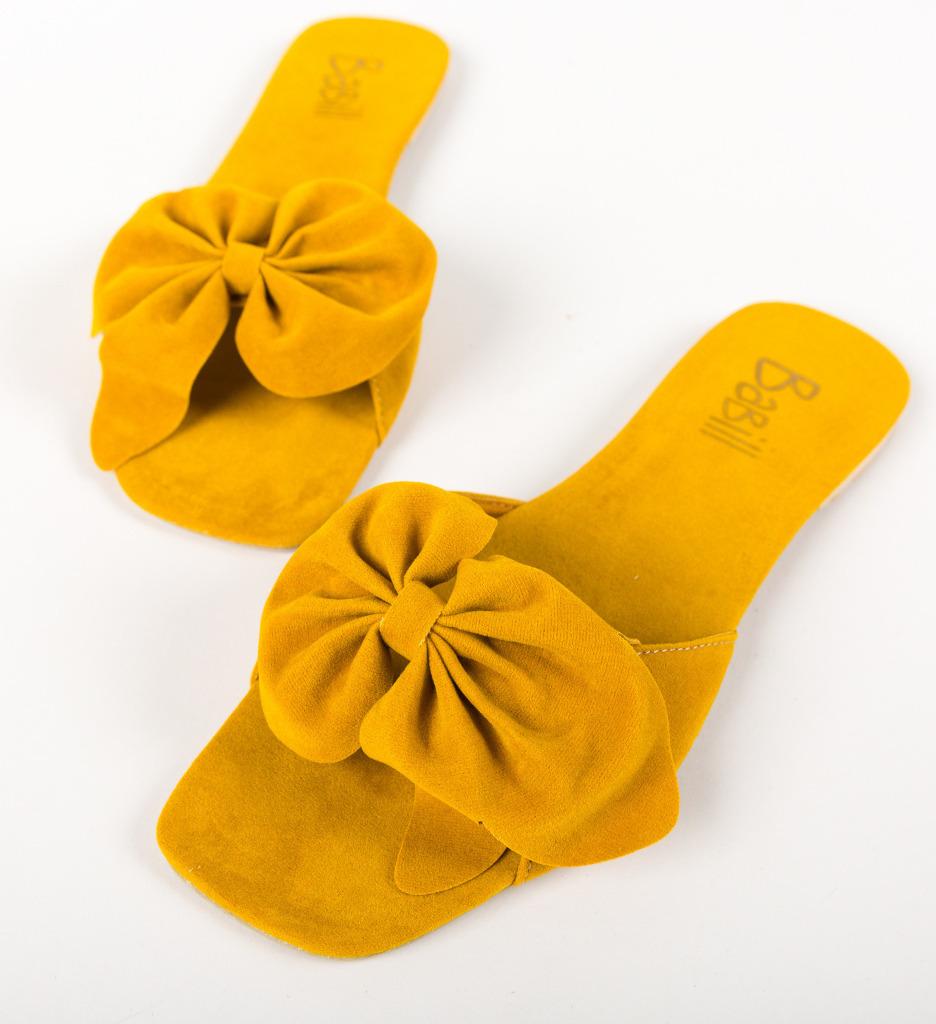 Papuci Dojah Galbeni
