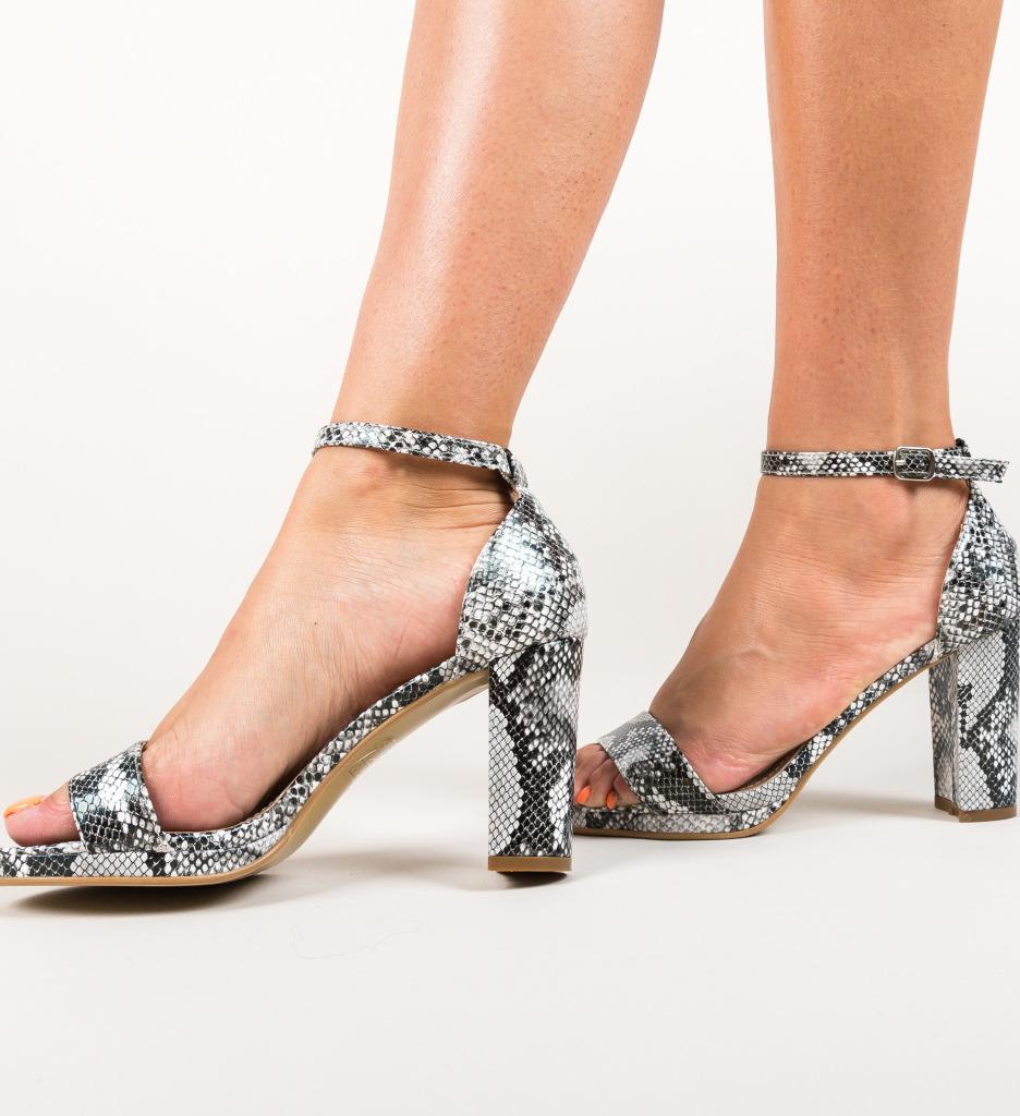 Sandale Abom Argintii