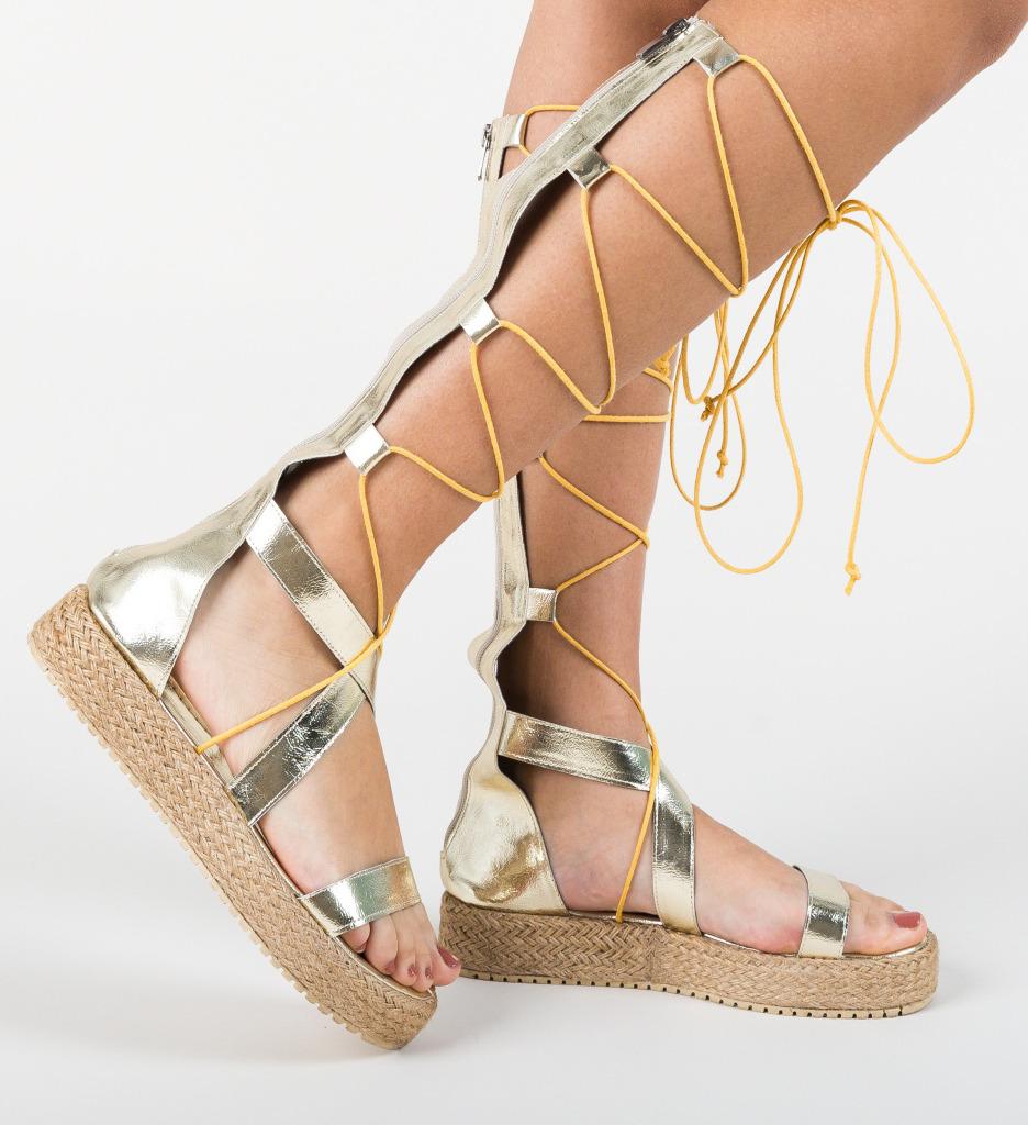 Sandale Ahaio Aurii