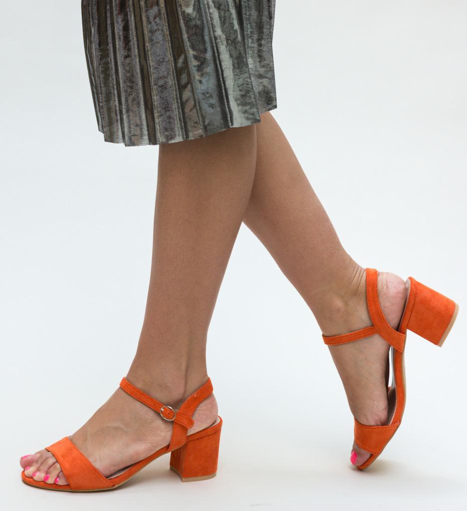 Sandale Aran Portocalii