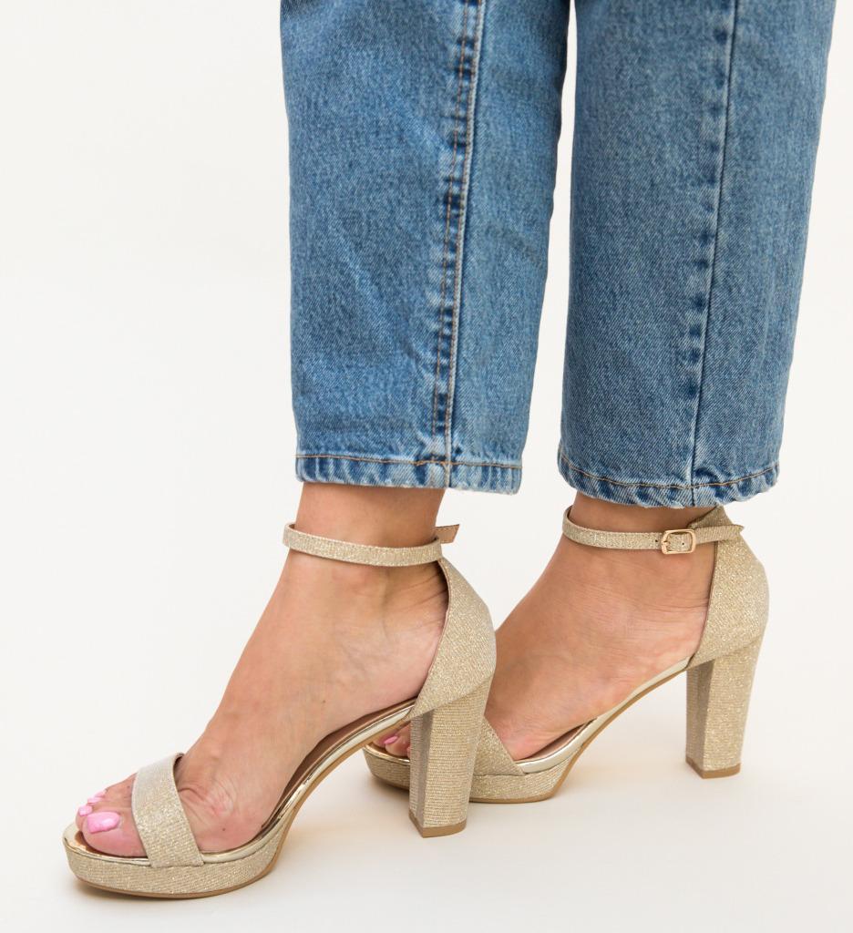 Sandale Davis Aurii