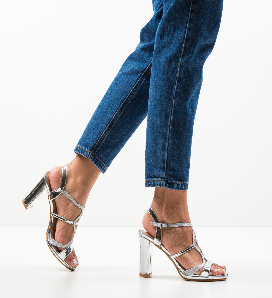 Sandale Dean Argintii