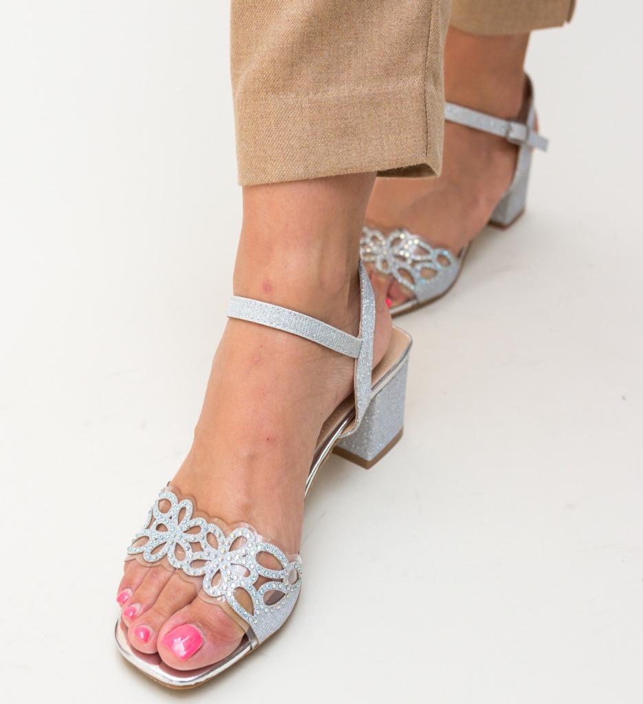 Sandale Esme Argintii