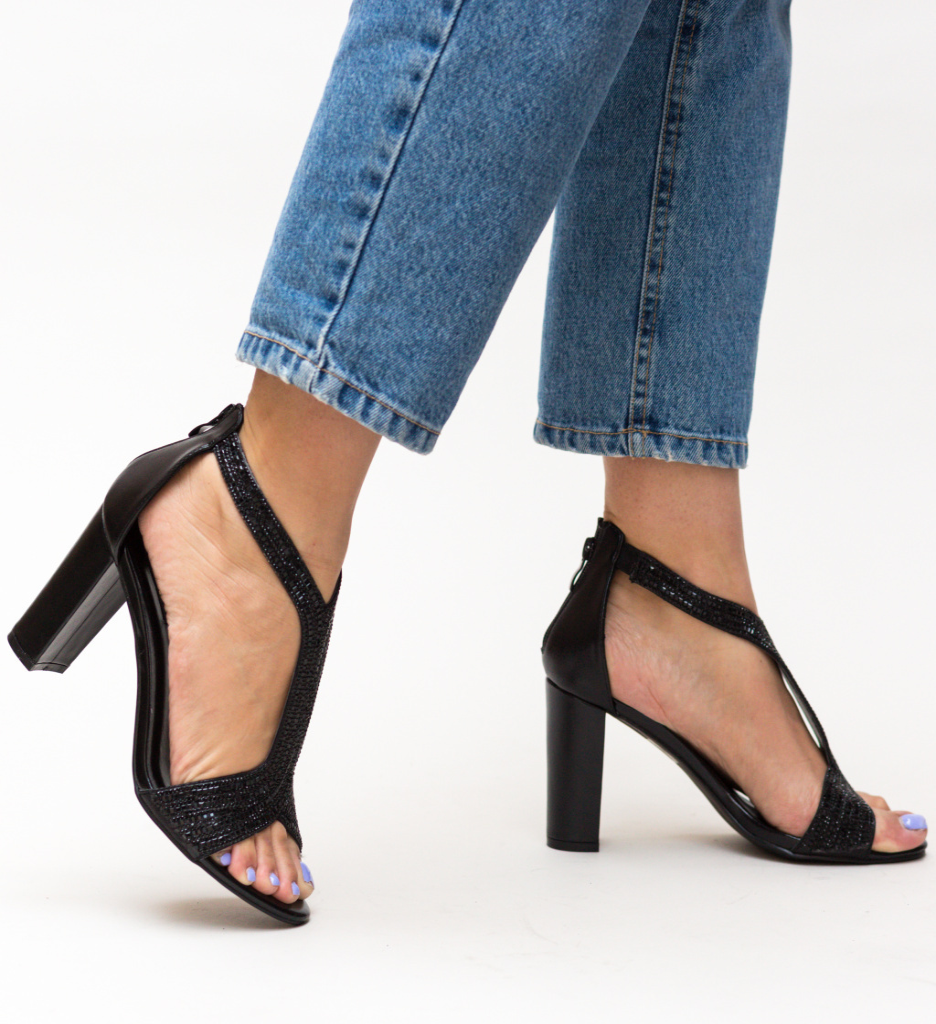 Sandale Henda Negre