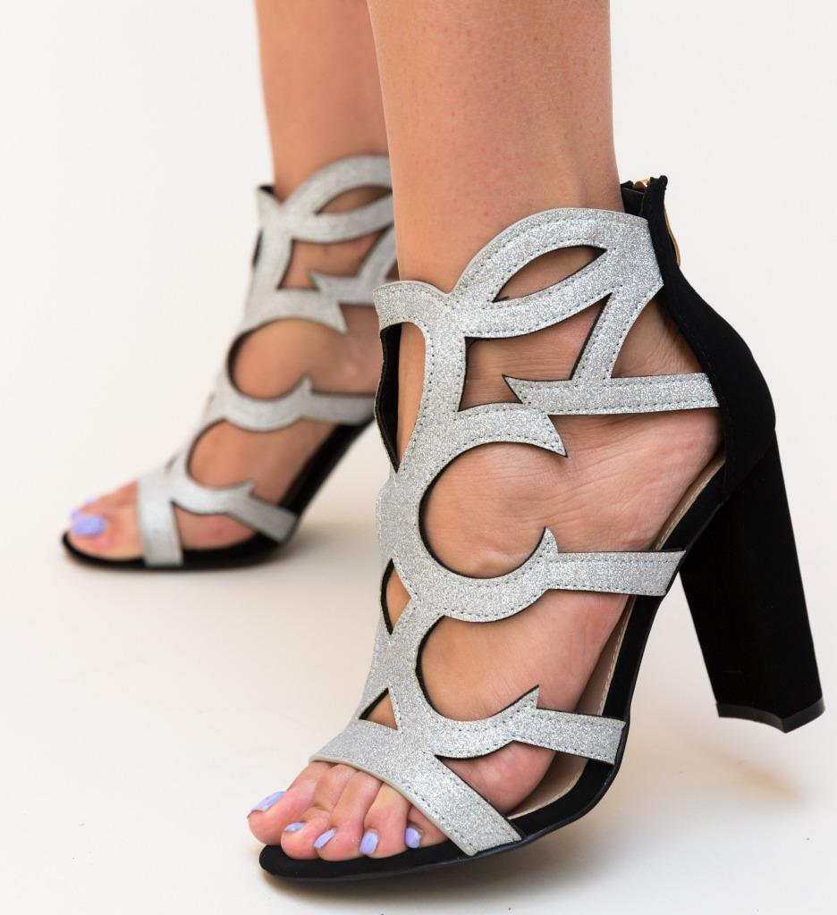 Sandale Langon Argintii