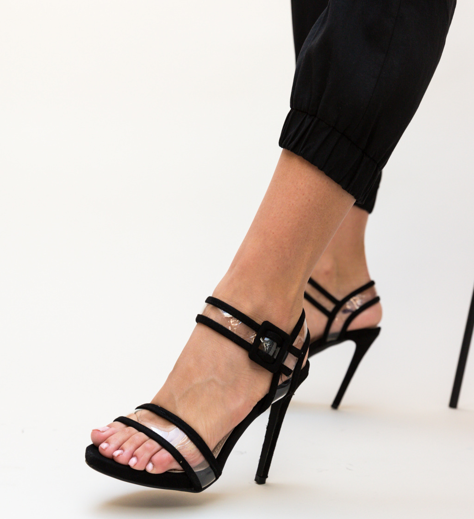 Sandale Molde Negre