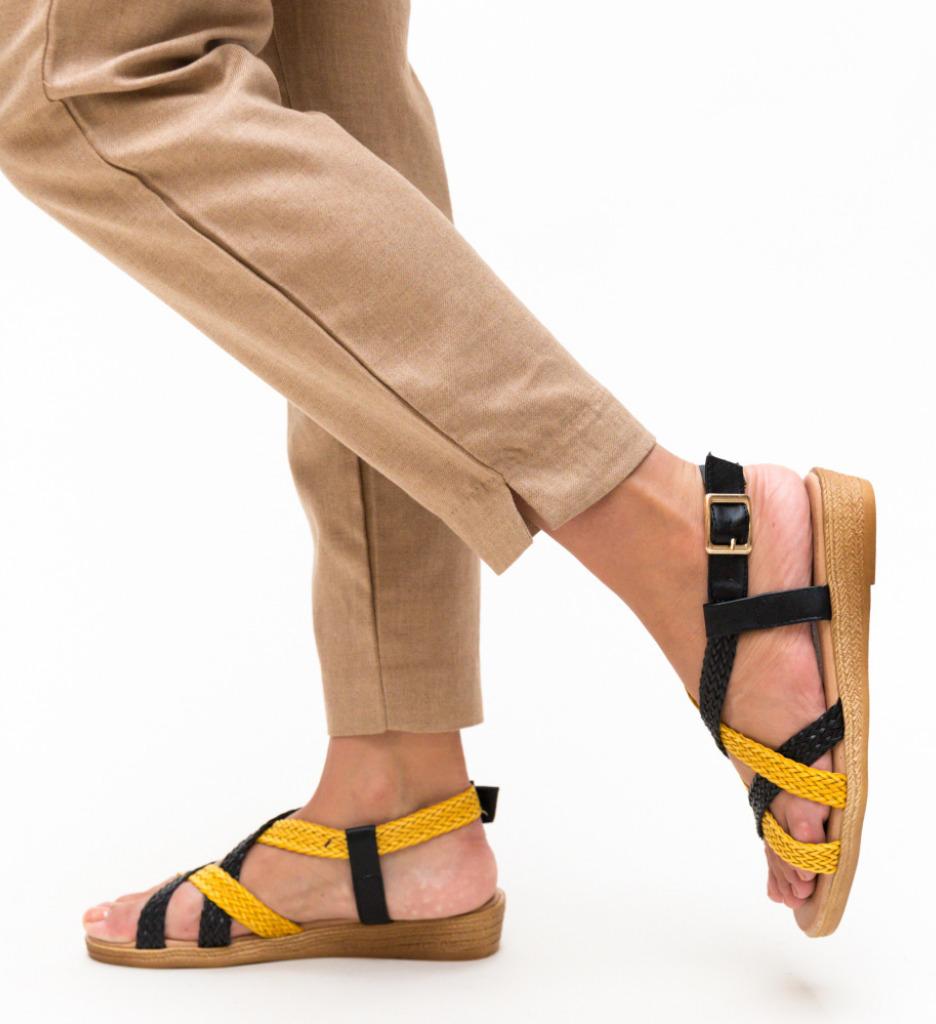 Sandale Nanie Negre 3
