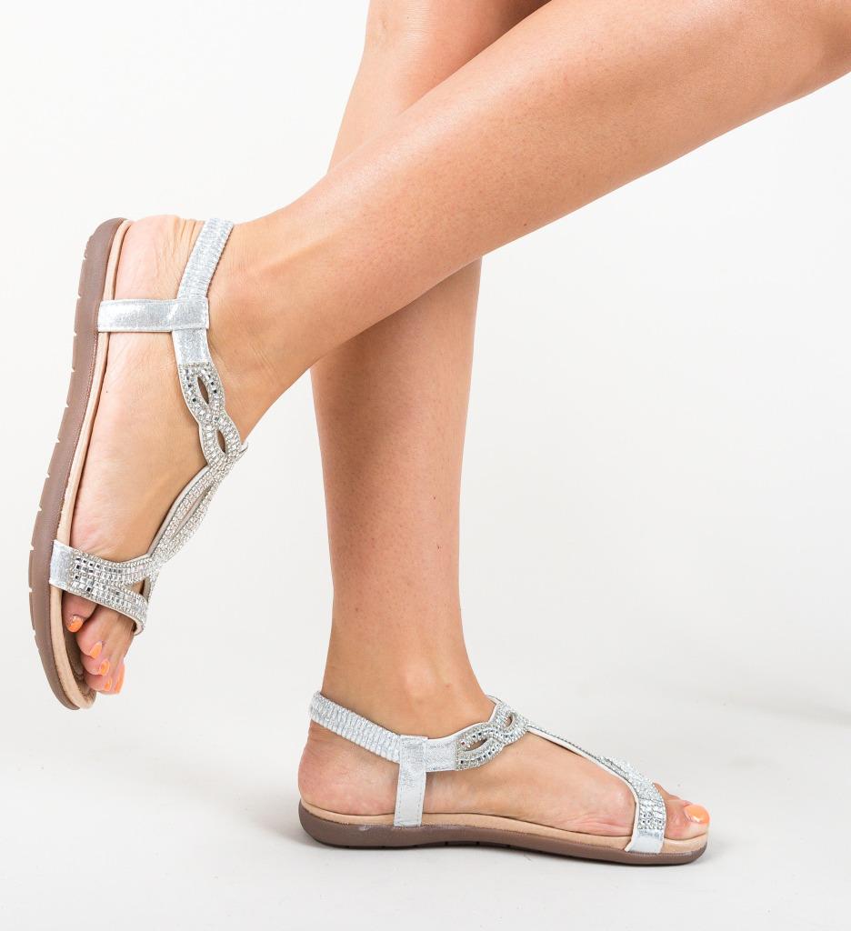 Sandale Pidano Argintii