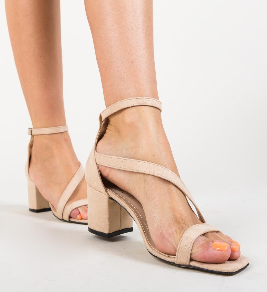 Sandale Piruna Bej