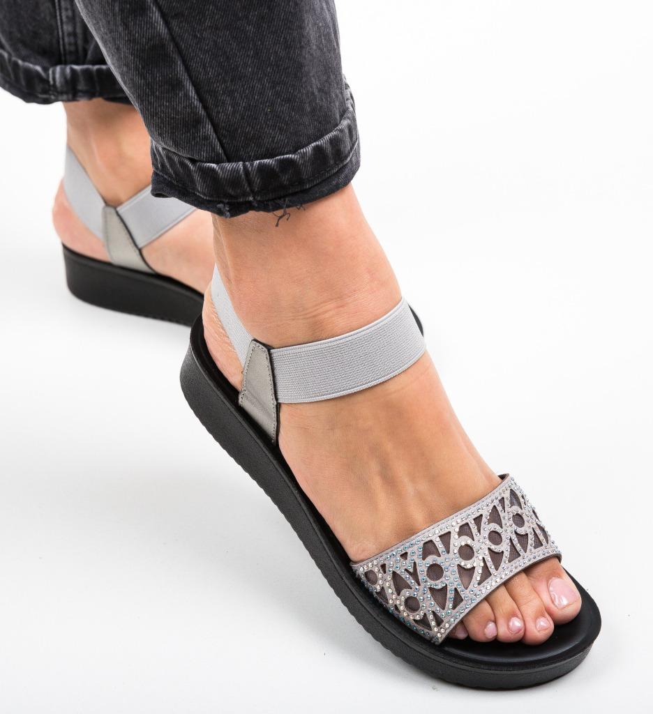 Sandale Sundey Gri