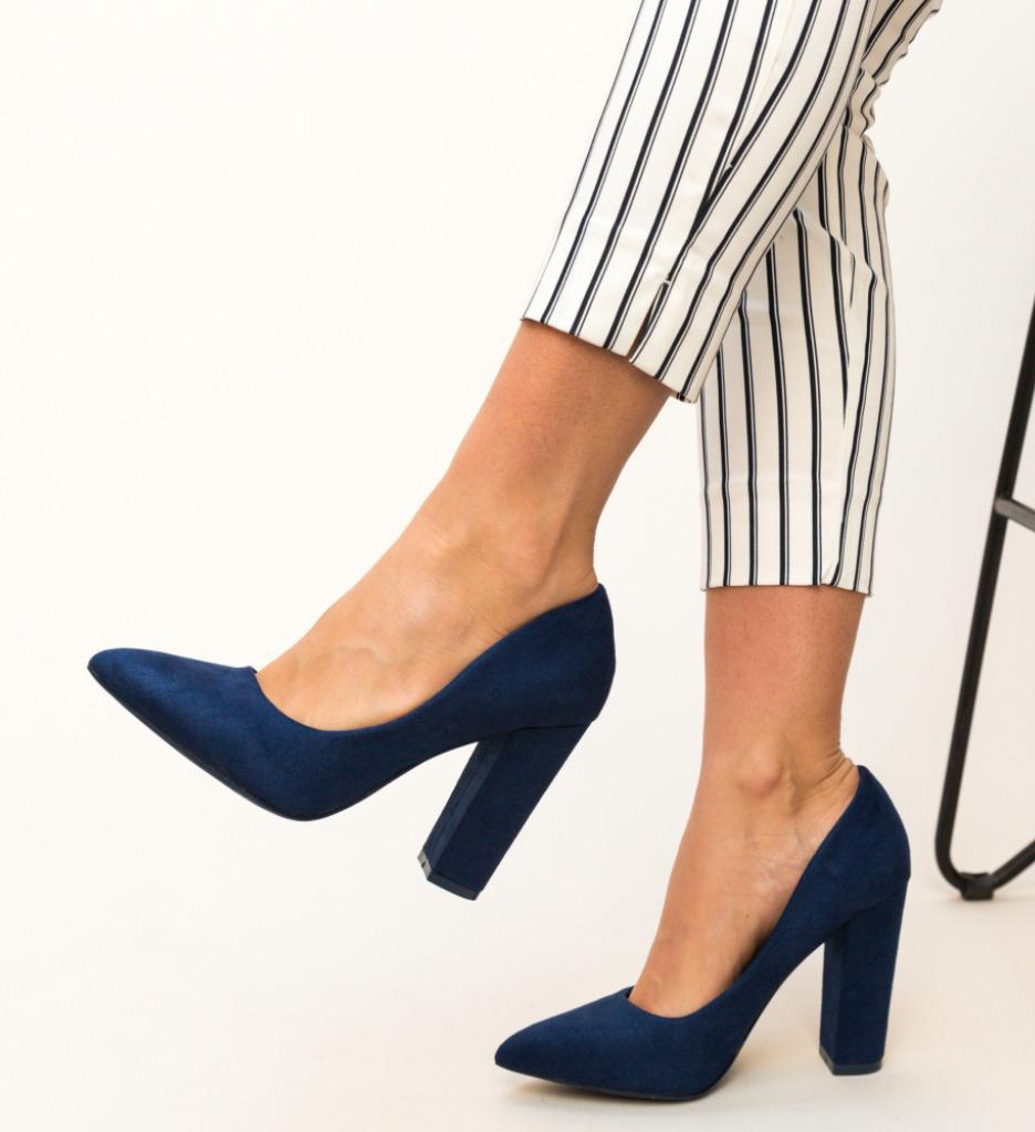 Pantofi Amani Bleumarin