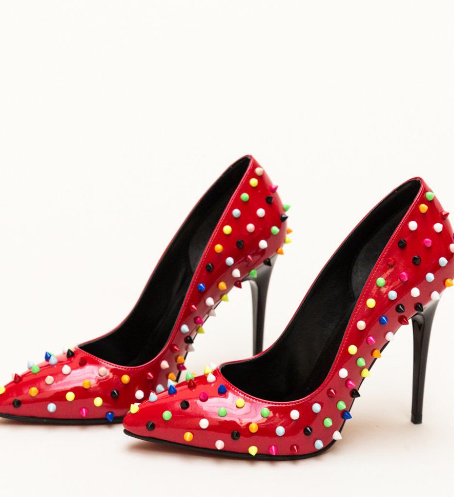Pantofi Bonibon Rosii