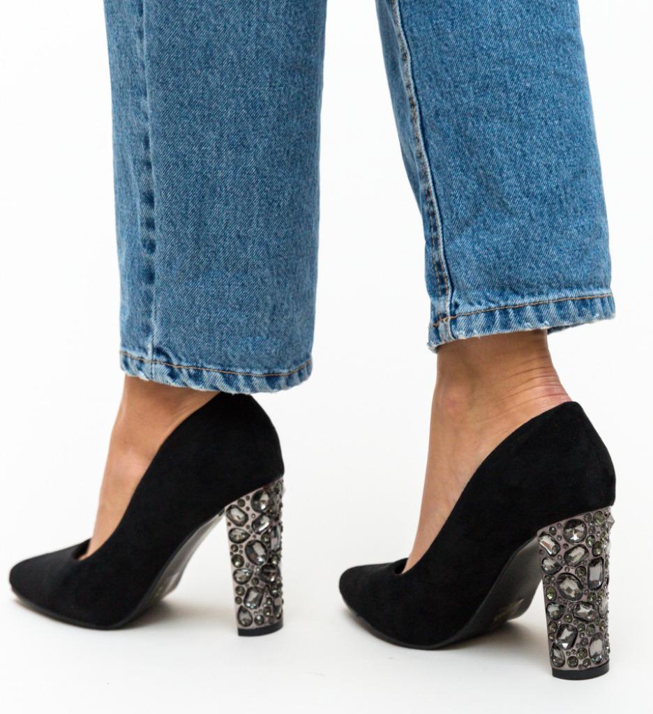 Pantofi Brem Negri
