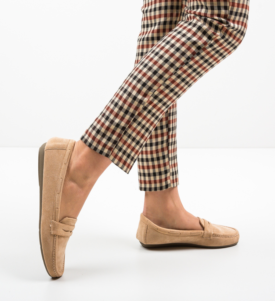 Pantofi Casual Amiq Bej